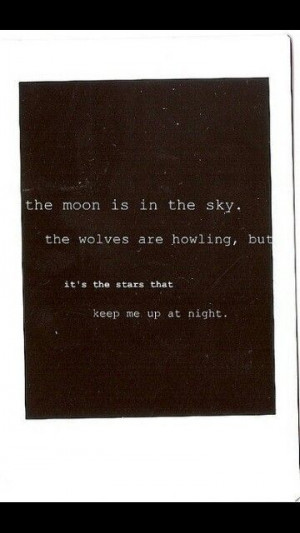 Moon quote 》Wolf quote