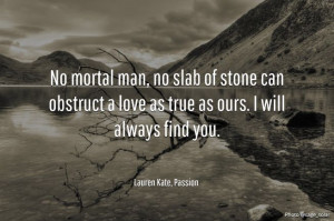 Passion by Lauren Kate (#3 in Fallen series) Quote