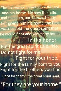 Longmire quote, Native American, blackfoot tribe. great spirit and the ...
