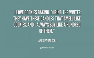 quotes about baking cookies