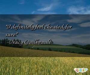 Cheated Quotes
