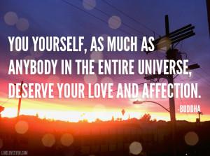 Self Love Quotes Buddha Buddha quote