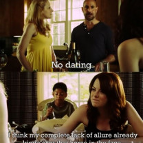 The Lying & Alluring Emma Stone In Easy A Picture Quote