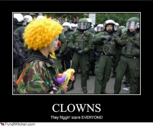 scary clowns Image
