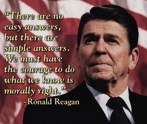 "President Ronald Reagan and ""Reaganomics"""