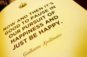 guillaume apollinaire, happy, keep calm and carry on, pause, pursuit ...