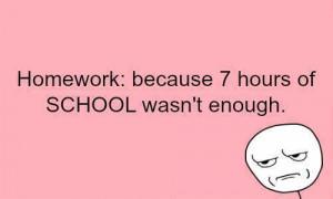 Quotes on homework