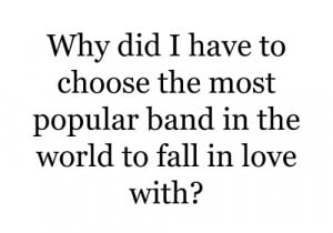 One Direction why fangirl problems