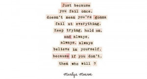 advice, cute, marilyn monroe, quotes, text, wisdom, words