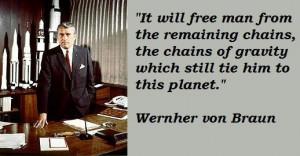 Wernher von braun famous quotes 3