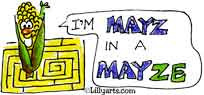 Month of May Clipart - Cartoon Bugs - Funny Sayings