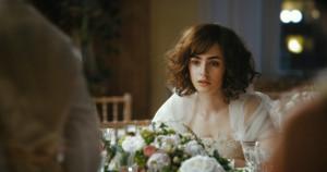 ... Collins stars as Rosie Dunne in The Film Arcade's Love, Rosie (2015