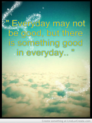 Everyday Is A Blessing C