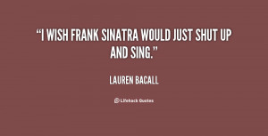 Frank Sinatra Quotes About Family