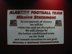 Alabamafootballteammissionstatement