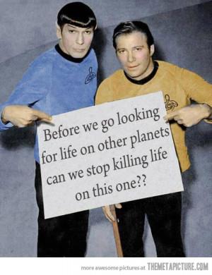 funny bathroom quote Star Trek
