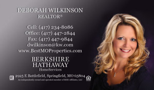 ... any photo or headshot you wish to be included on your business card