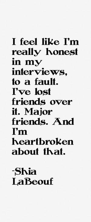 Shia LaBeouf Quotes & Sayings