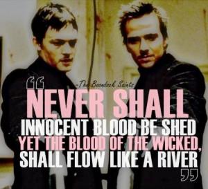 The Boondock Saints quote