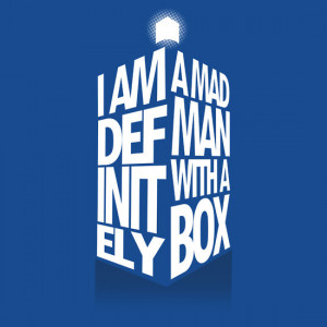 TShirtGifter presents: Madman With a Box