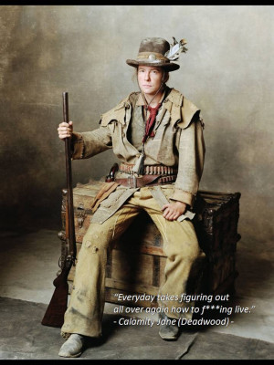 Calamity Jane - Deadwood TV Series