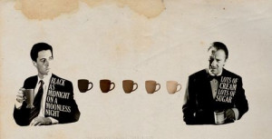 ... cooper)(kyle malachlan)(pulp fiction)(the wolf)(harvey keitel)(coffee