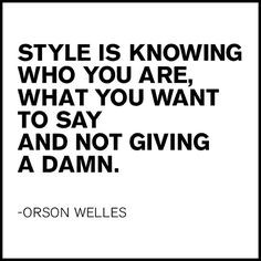 We don't give a damn. #quotes #inspiration #style More
