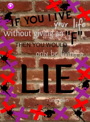 Living a lie quotes wallpapers
