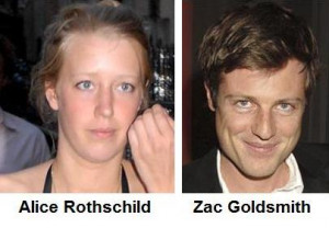 ... to be living with zac goldsmith brother of ben zac goldsmith ups