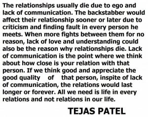 Quotes About Understanding Relationships