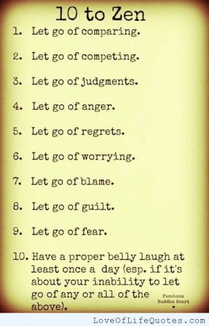 Zen Love Life Quotes