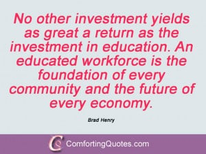 Quotes By Brad Henry