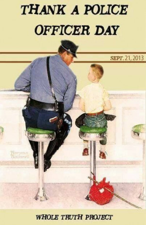 Thank a Police Officer Day 09/21/2013