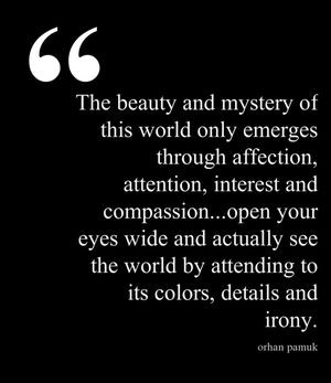 ... colors, details and irony. - Orhan Pamuk, My Name is Red #book #quotes