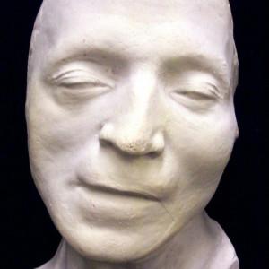death mask of revolutionary journalist Jean Paul Marat: Undies Faces ...
