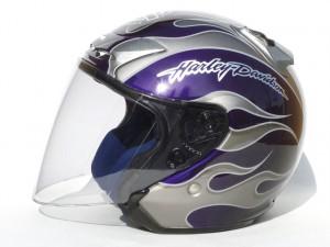 open face helmet ultra cvo color pair paint②