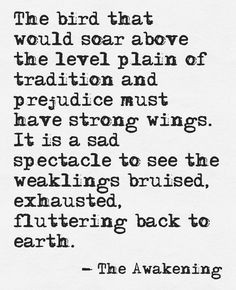 The Awakening By Kate Chopin Quotes