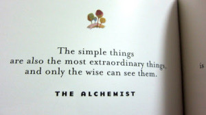 the alchemist quotes and when you want something all the