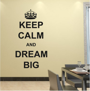 Free shipping new arrival Removable Art Mural wall quotes Keep Calm ...