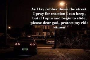 Car prayer