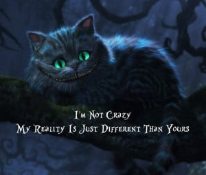Not Crazy, My Reality is Just Different Than Yours