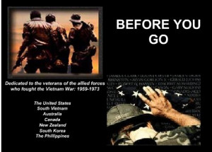 Before You Go - Veterans Tribute and Thank You
