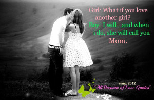 All Because Of Love Quotes