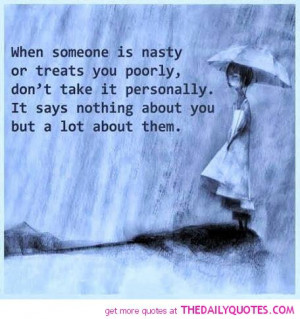 Nasty Quotes And Sayings Life quotes sayings poems