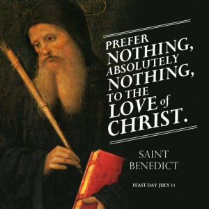 Saint Benedict of Nursia was known as an Exorcist of his time.