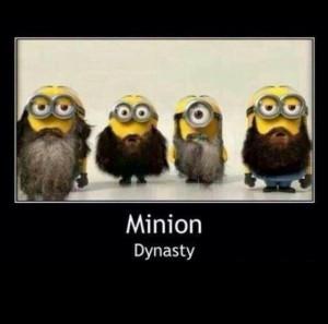 Duck Dynasty Minions