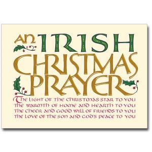 An Irish Christmas Prayer - Christmas Cards (Package of 18)