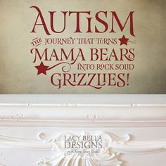 ... gift of encouragement to that warrior mom fighting the autism battle