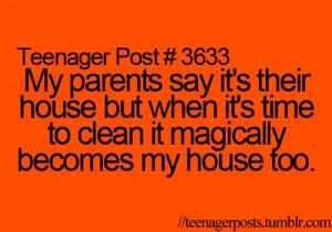 ... life, teenager post, family, teen, true words, funny, true, teenage