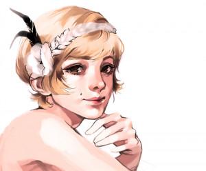 The Great Gatsby - Daisy Buchannan by hotarumyst